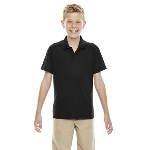 EXTREME Youth Eperformance? Shield Snag Protection Short-Sleeve Polo