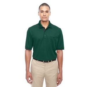 CORE 365 Men's Motive Performance Piqué Polo with Tipped Collar
