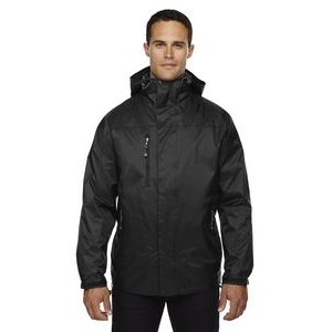 NORTH END Adult Performance 3-in-1 Seam-Sealed Hooded Jacket