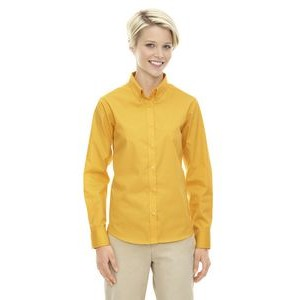 CORE 365 Ladies' Operate Long-Sleeve Twill Shirt