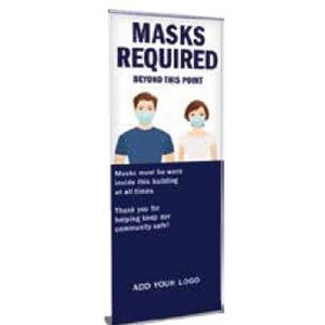 Orient 800 Silver Retractable Banner Stand