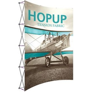 Hopup 8ft Extra Tall Curved Display with Endcaps