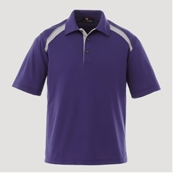 Custom Youth Button Placket Performance Polo Shirt