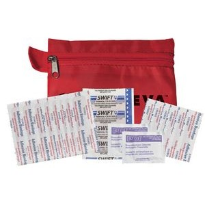 Doctor's First Aid Kit #1 w/ Polyester Zipper Pouch