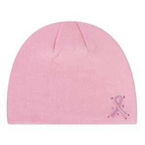 Ladies' Breast Cancer Awareness Acrylic Board Cap