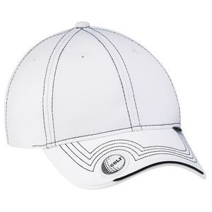 Deluxe Blended Chino Twill Golf Cap