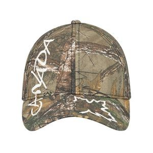 Full Fit Brushed Polycotton Realtree™ Cap (Canada Logo)