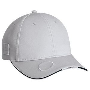 Constructed Contour Golf Cap w/Contrasting Edge & Golf Insignia
