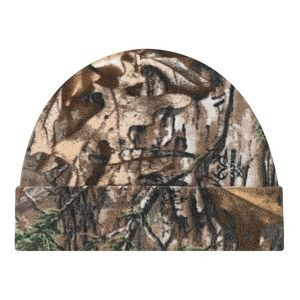 Micro Fleece Printed Polyester Realtree APS® or Xtra® Camouflage Board Toque Cap