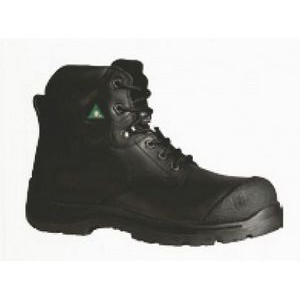 "Traction 360° 6"" Steel Toe Work Boots (Black)"