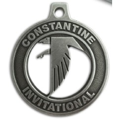 "Custom Zinc Cast Medals (3¼"")"
