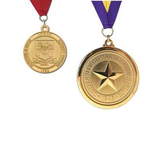 "Custom Brass Die Struck Medal (2"")"