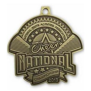 "Custom Zinc Cast Medals (1¾"")"