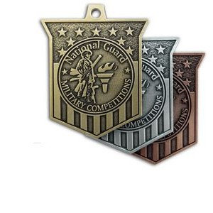 "Custom Zinc Cast Medals (3"")"
