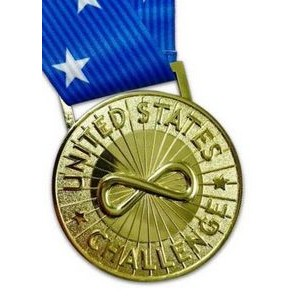 "Custom Iron Die Cast Medal (2½"")"