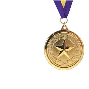 "Custom Brass Die Struck Medal (1¾"")"