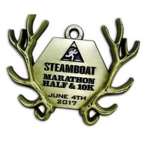 "Custom Iron Die Cast Medal (2¼"")"