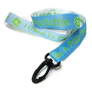 Digitally Sublimated Recycled Lanyard