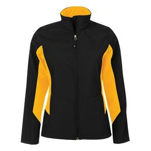 Ladies' Coal Harbour® Everyday Colour Block Soft Shell Jacket