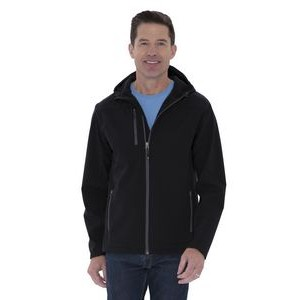 Adult Coal Harbour® Essential Hooded Soft Shell Jacket