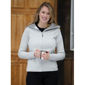 Ladies' DryFrame® Dry Tech Fleece Full-Zip Hooded Jacket
