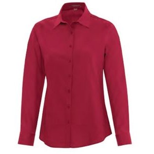 Ladies' Coal Harbour® Everyday Long-Sleeve Woven Shirt