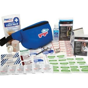 Sports Player First Aid Fanny Pack (61 Pieces)