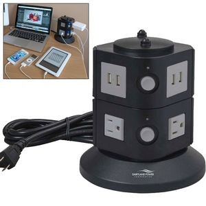 Power Tower w/ USB Charging Station