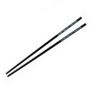 Black Plastic Chopsticks in Cello Wrapper