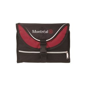 The Overnighter Toiletry Bag - Red Trim