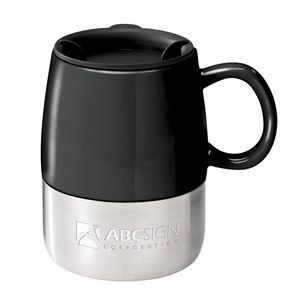 The Tasty Ceramic & S/S Mug - 14oz Black