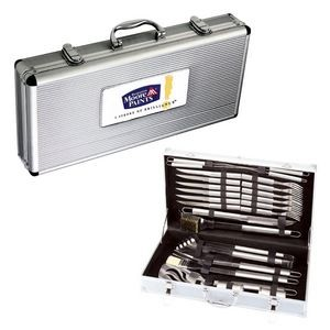 The Family 24pc BBQ Set - Stainless Steel
