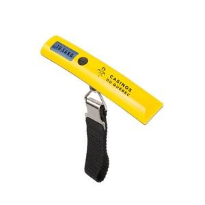 The Vacationer LCD Luggage Scale - Yellow