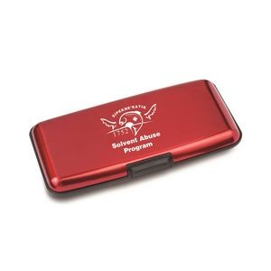 The Safeguard Plus Cardholder - Red