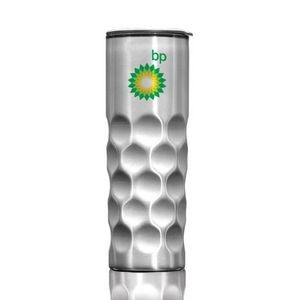 The Sculpt S/S Tumbler - 14oz Silver