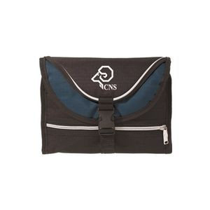 The Overnighter Toiletry Bag - Navy Trim