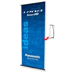 "33"" L- Stand Banner Kit"