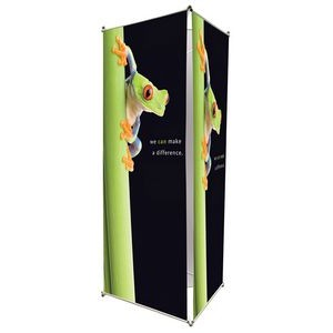 "35"" Triple Sided Banner Stand"