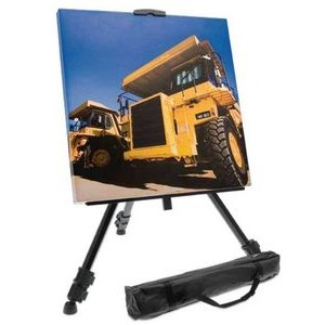 Retractable Easel Display