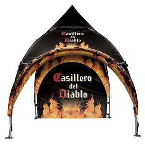10' x 10' Arched Canopy and Frame -Dye Sub