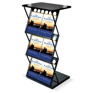 Portable Folding Catalog Shelf