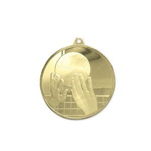 3D Mint Quality Medal for Volleyball
