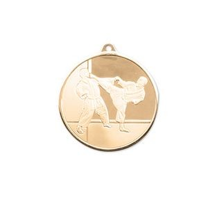3D Mint Quality Medal for Karate