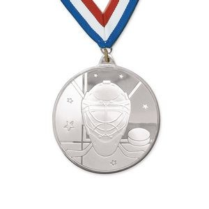 3D Mint Quality Medal for Hockey