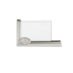 Business Card Holder with Glass Panel