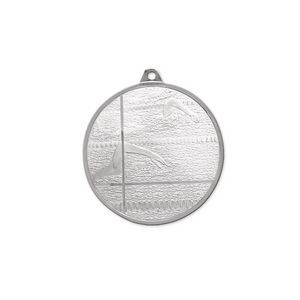 3D Mint Quality Medal for Swimming