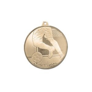 3D Mint Quality Medal for Soccer