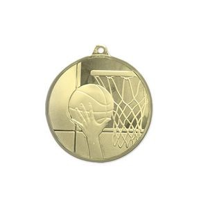 3D Mint Quality Medal for Basketball