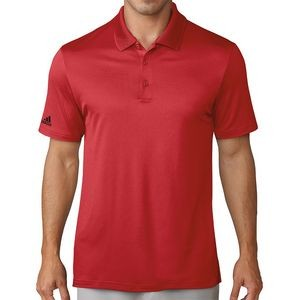 Adidas® Men's Performance Polo (Collegiate Red)