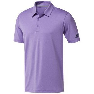 Adidas® Men's Ultimate365 Heather Polo (Active Purple)